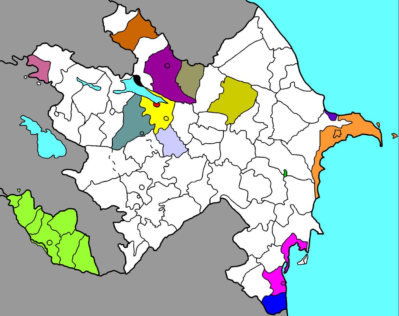 Data Jurnalistikası Təliminə cəlb edilən regionlar