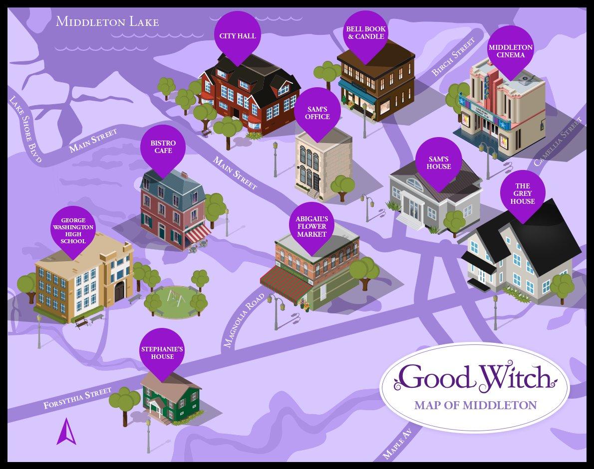 Good Witch Season 4 Map of Middleton
