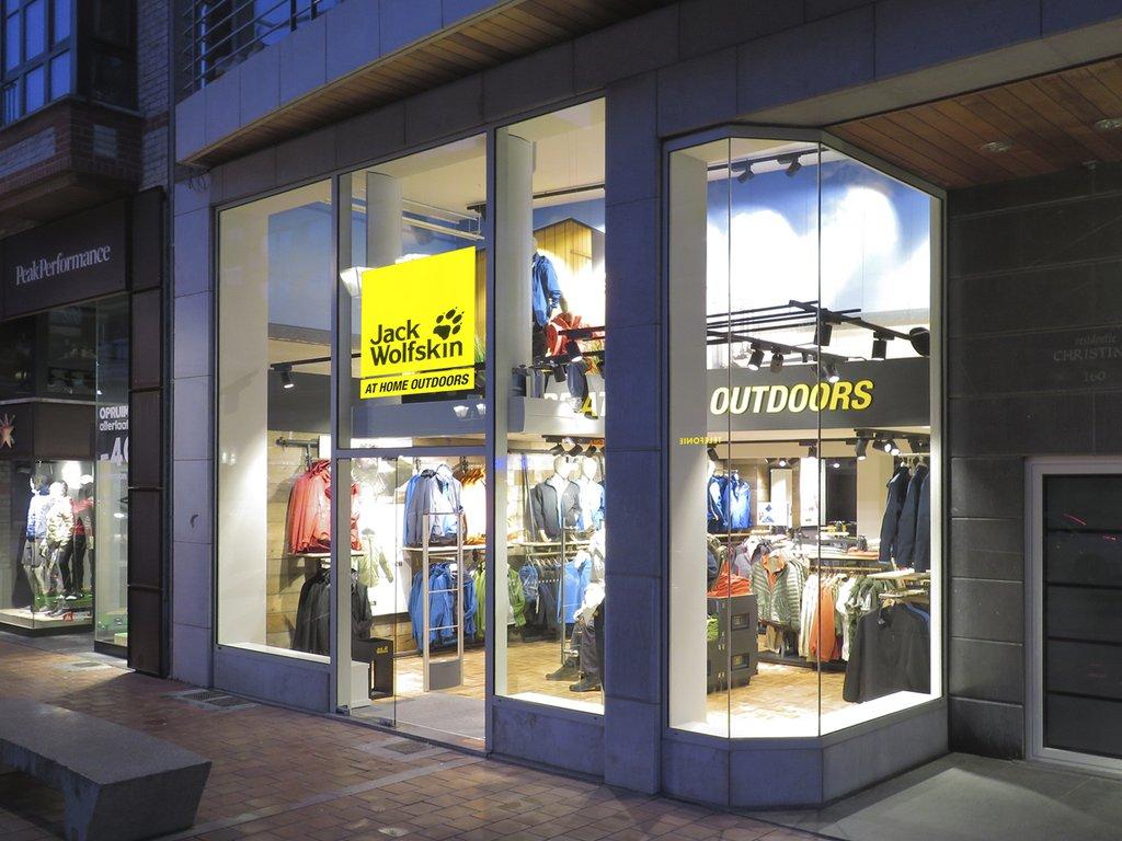 lower price with the best sneakers Zo ziet de nieuwe Jack Wolfskin winkel in Knokke eruit