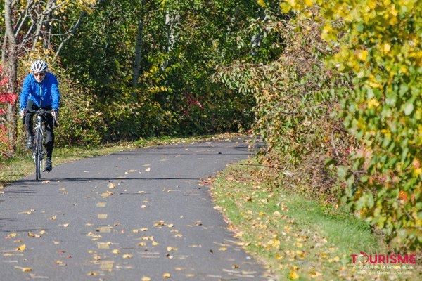 La piste cyclable de Bécancour