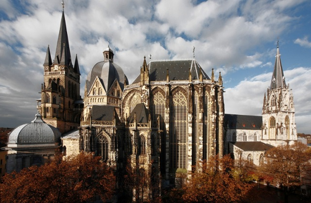 Charlemagne Castle Aachen