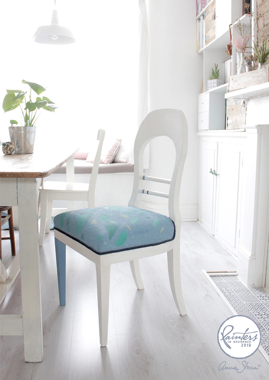 Painted Chair Makeover by Hester van Overbeek