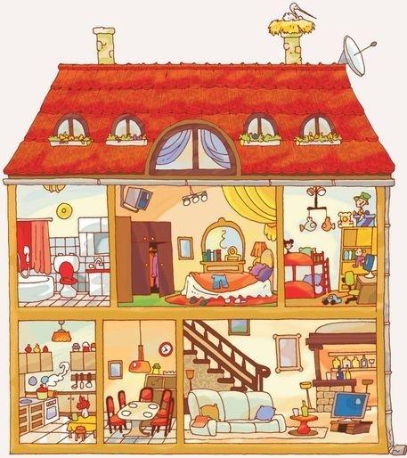 La casa - interno
