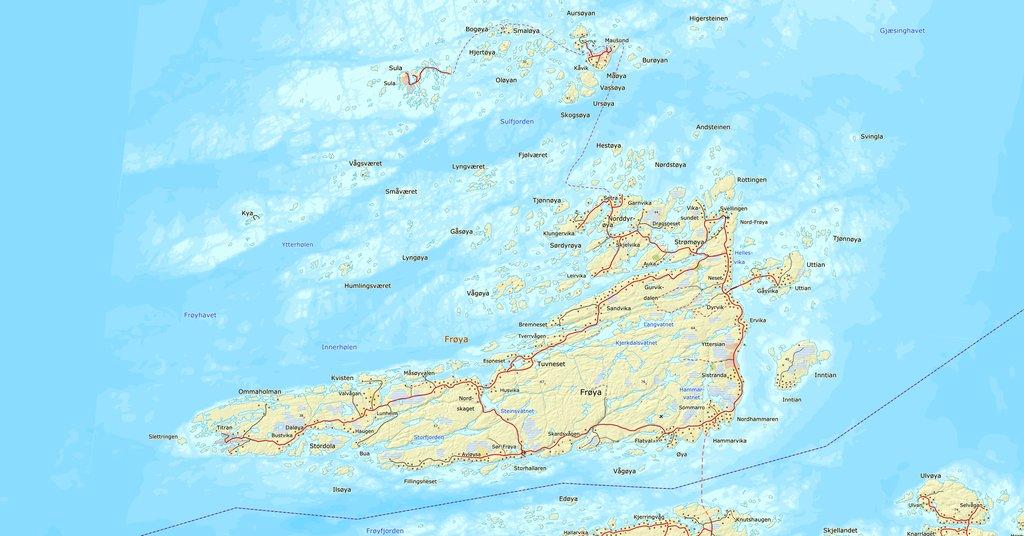 kart over frøya Over 40 innspill på framtidig bruk av Frøya eiendommer. Klikk på  kart over frøya