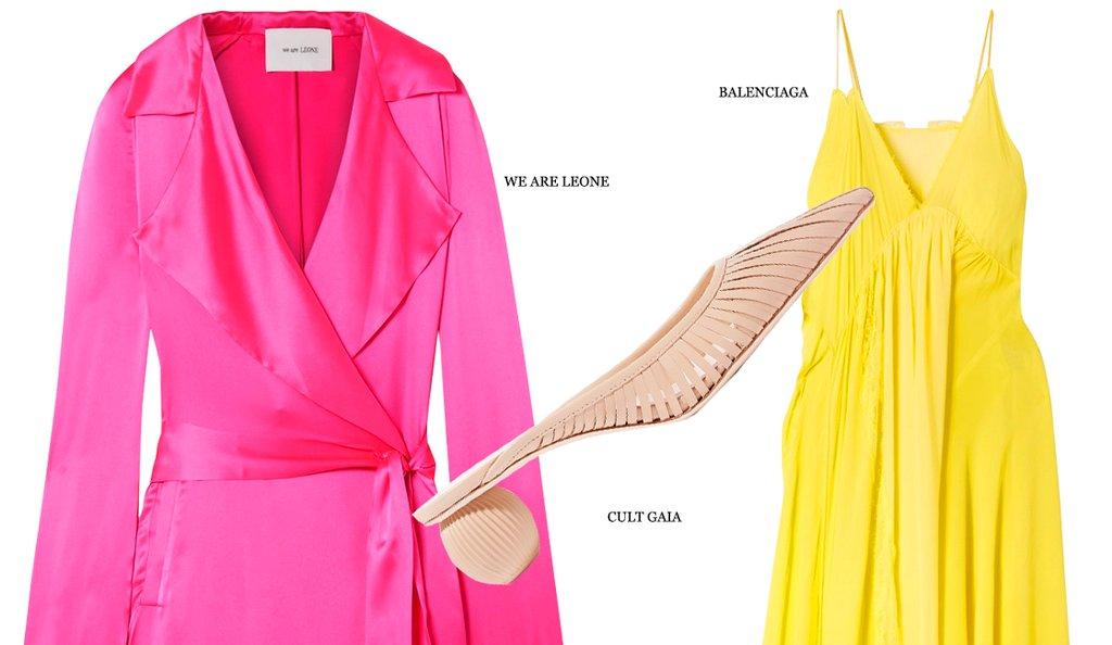 Идеальное сочетание: желтый и розовый (фото 1)