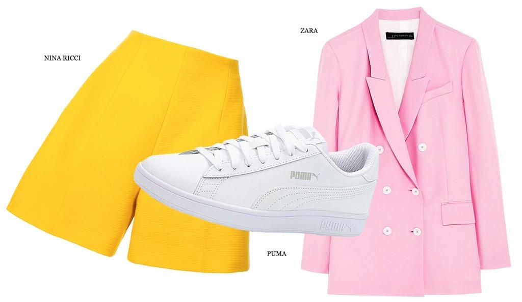 Идеальное сочетание: желтый и розовый (фото 2)