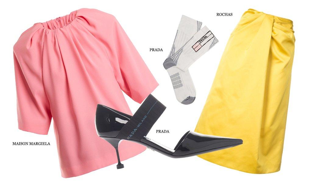 Идеальное сочетание: желтый и розовый (фото 3)
