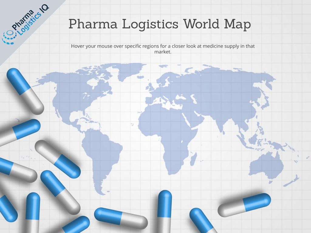 Pharma Logistics Interactive World Map | Pharma Logistics