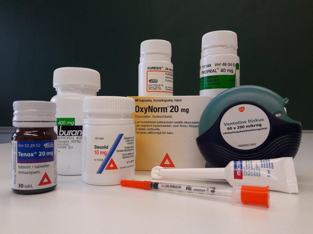 Lääkkeiden Alikäyttö