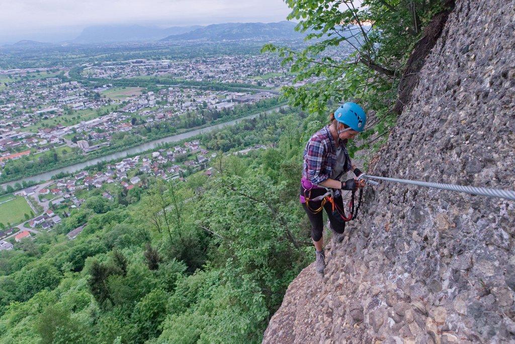 Klettersteig Känzele : Die klettersteige am känzele sind nichts für angsthasen