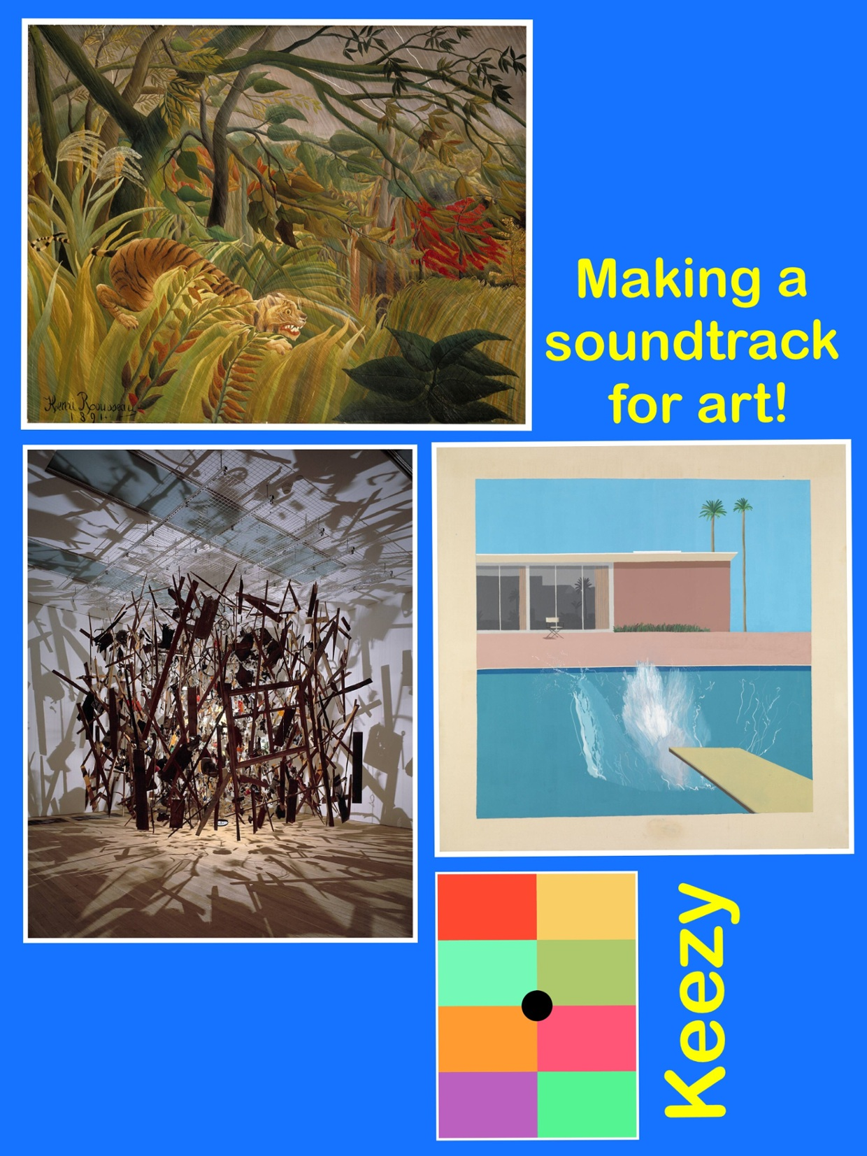 Making sounds for art!