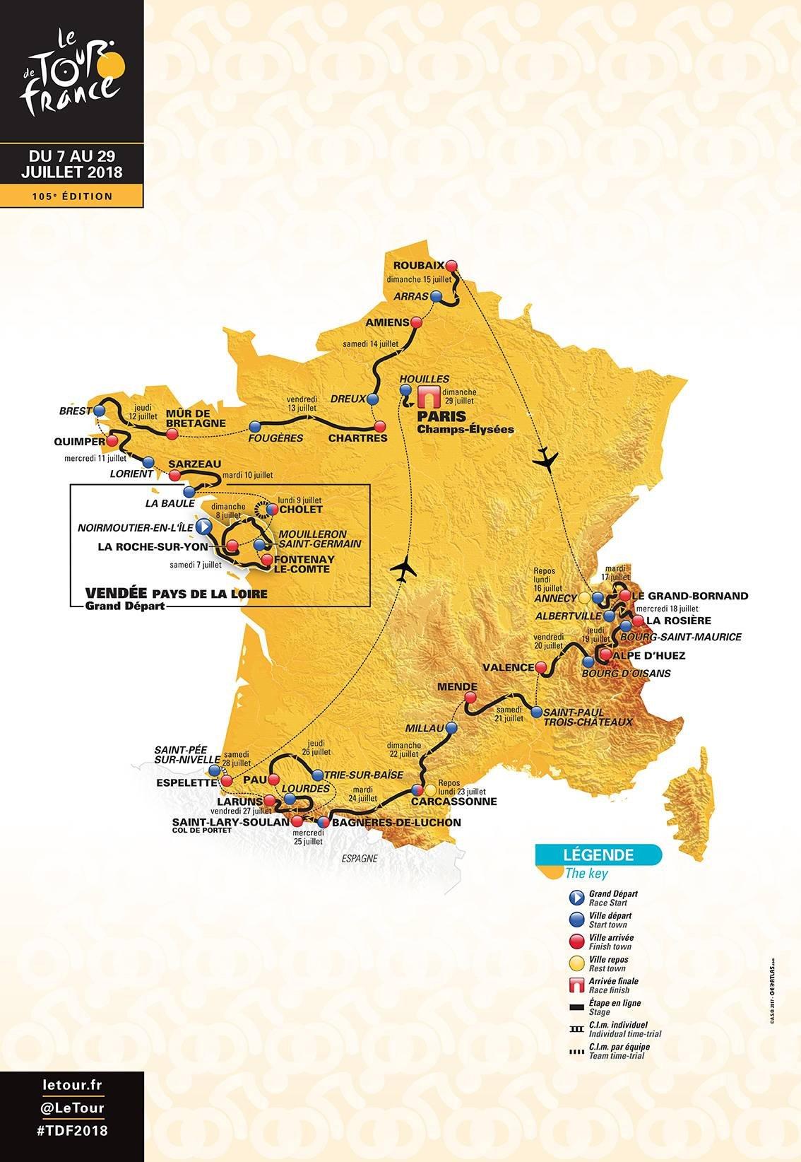 Suivez le Tour de France 2018 depuis un camping labellisé !