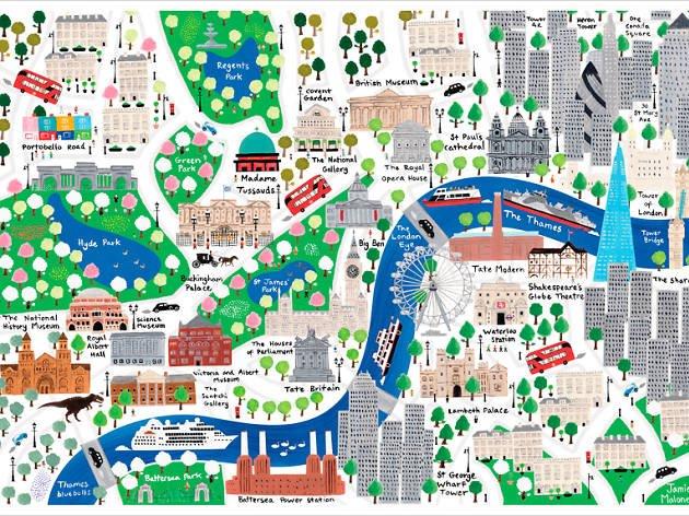 London: an interactive map