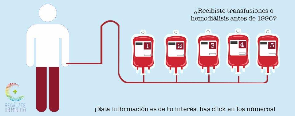 Las transfusiones y la Hepatitis C