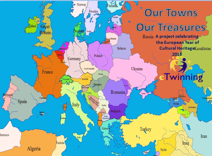 Our Towns Our Treasures eTwinning 2018