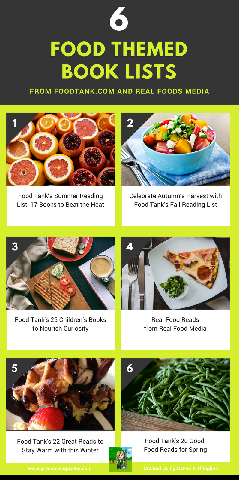 Food Tank's Summer Reading List: 17 Books to Beat the Hea...