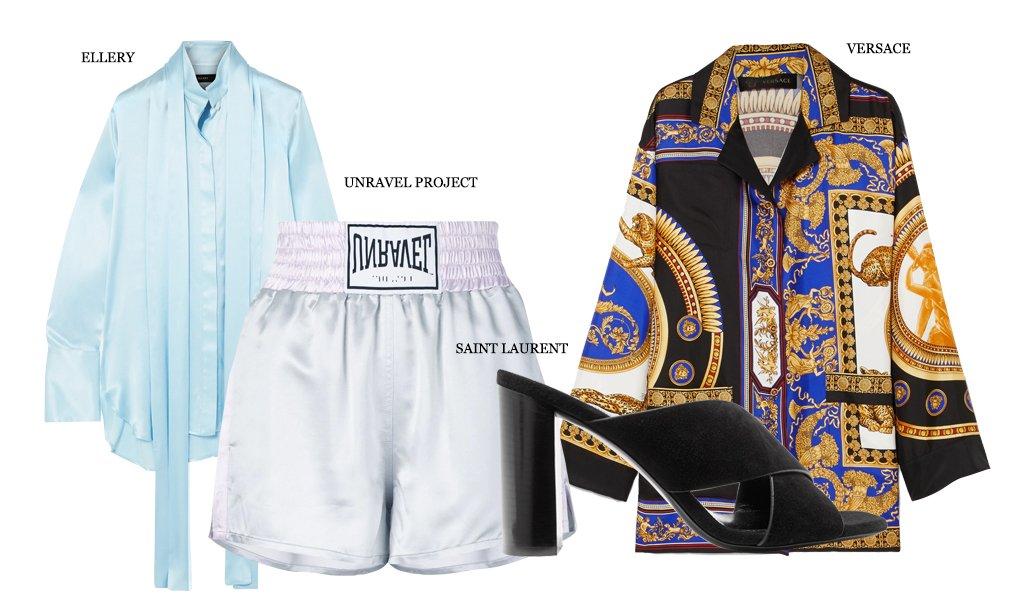 С чем носить спортивные (боксерские) шорты вне зала (фото 3)
