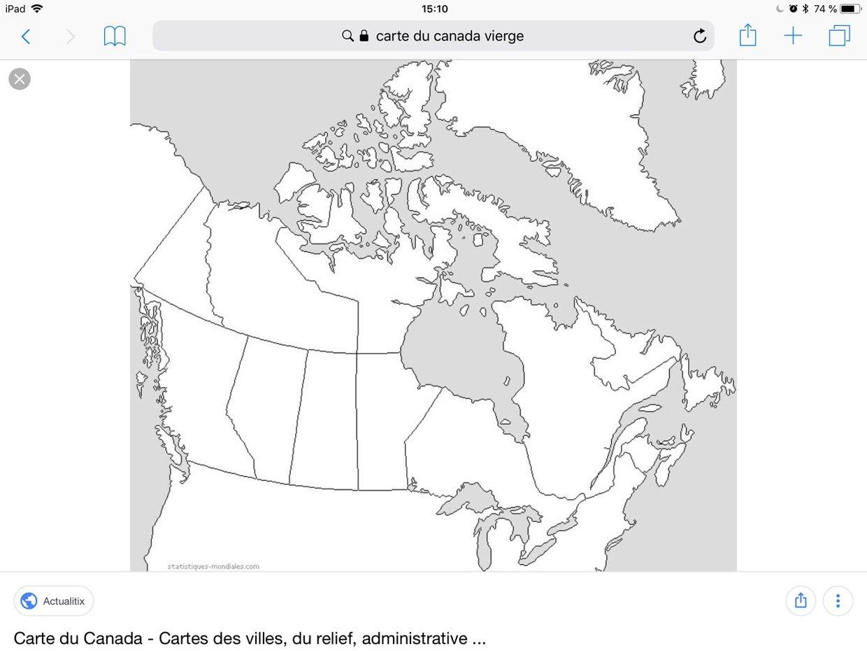 Carte Administrative Canada.Jason Dongmo Tetouom Carte Du Canada