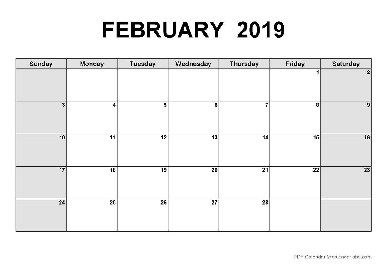 LCNV's Interactive PD Calendar_February 2019