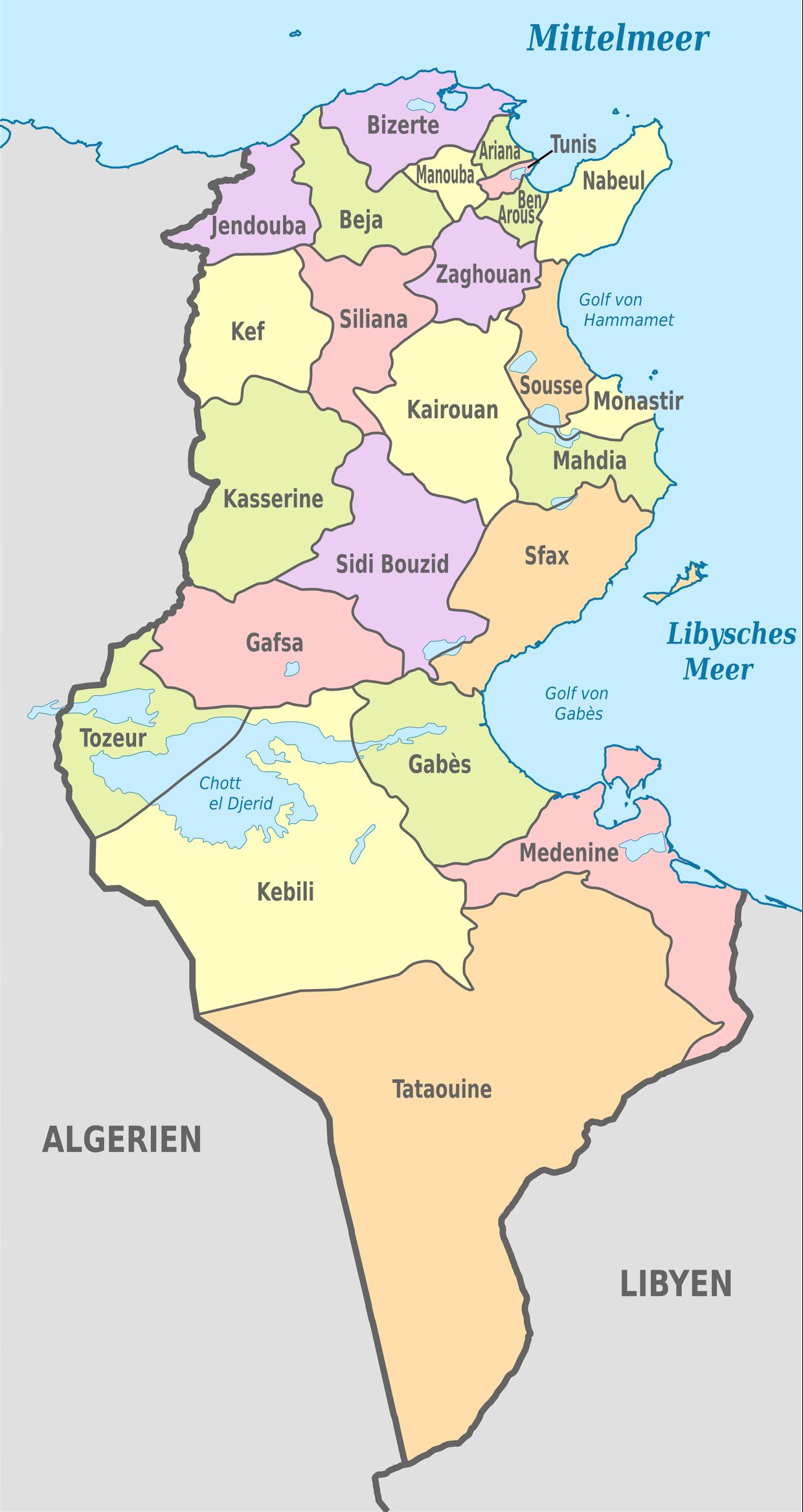 La Carte Interactive Du Groups Ultra En Tunisie