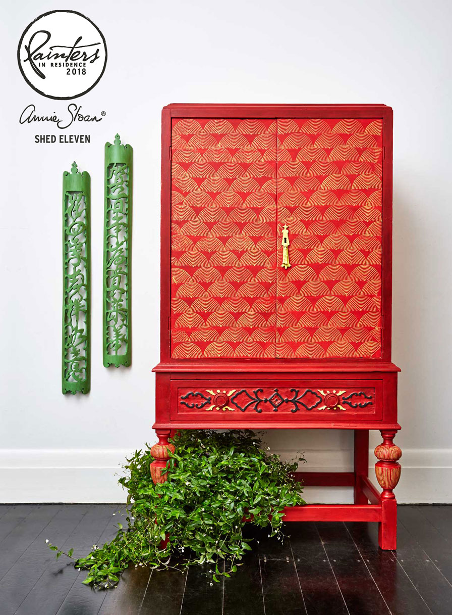 Chinese Armoire by shed eleven