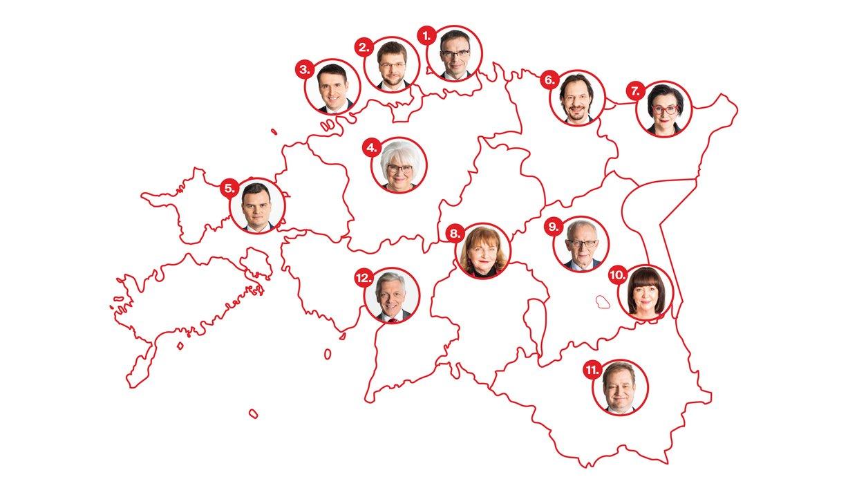 Sotside nimekirjad Riigikogu valimistel 2019