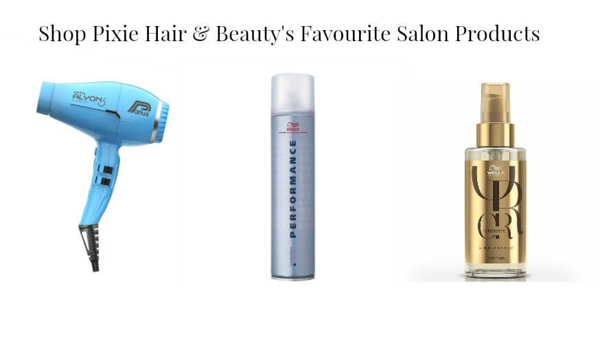 Pixie Hair & Beauty Glasgow salon products
