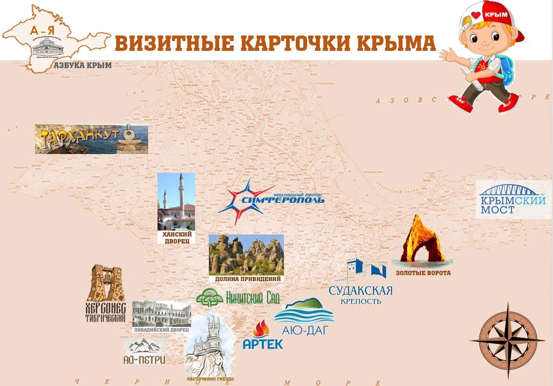 Визитные карточки Крыма
