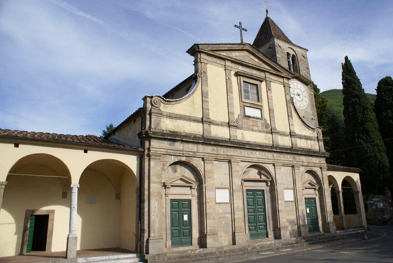 La Pieve di San Pietro Apostolo a Vorno