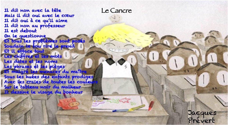 Analyse Du Poème Le Cancre