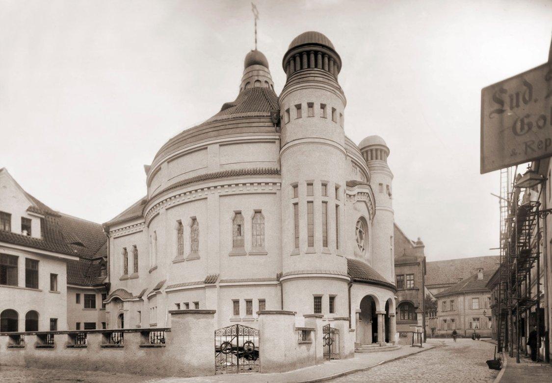Die Synagoge von 1912