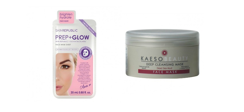 Skin Republic Prep + Glow Mask and Kaeso Beauty Deep Cleansing Mask