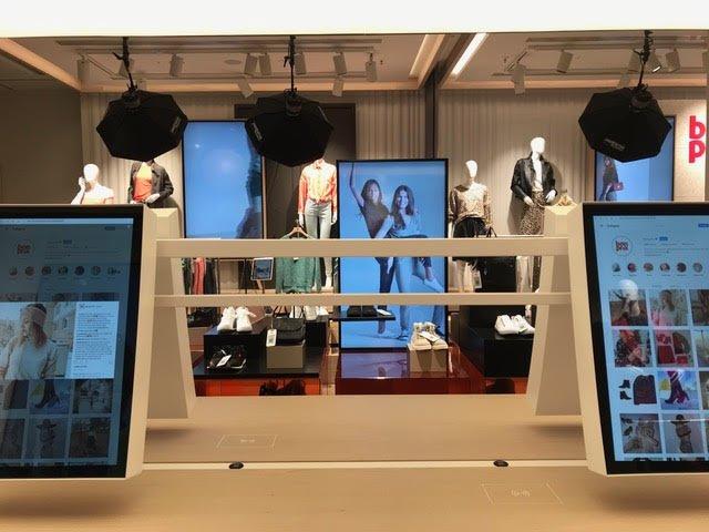 In beeld: de nieuwe high-tech winkelervaring van Bonprix