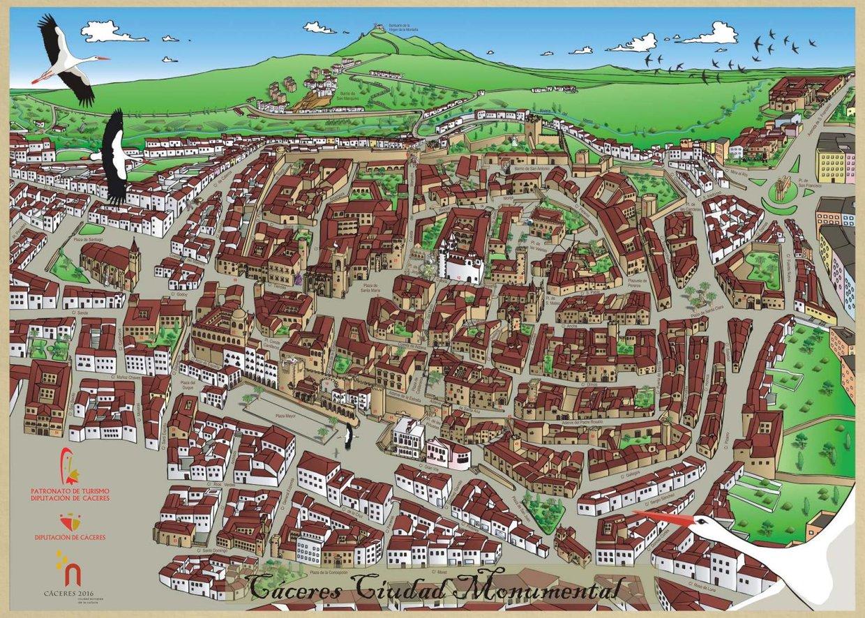 Cáceres, lugar de historia y leyendas.