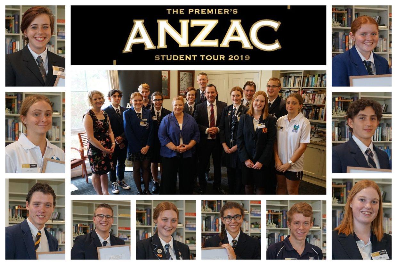 2019 Premier's Anzac Student Tour: Strife & Struggle Tasks
