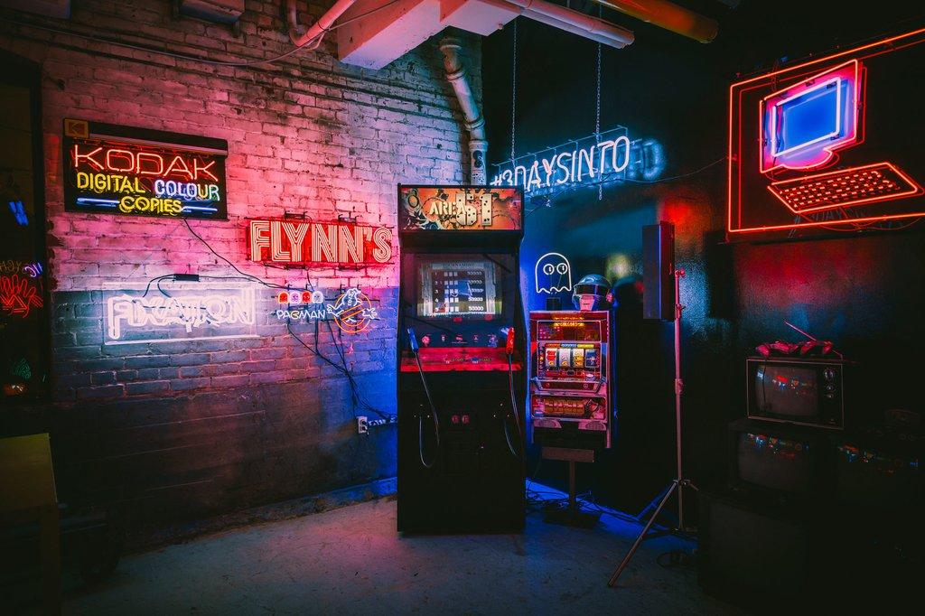 Inside a trippy neon sign studio in Leslieville