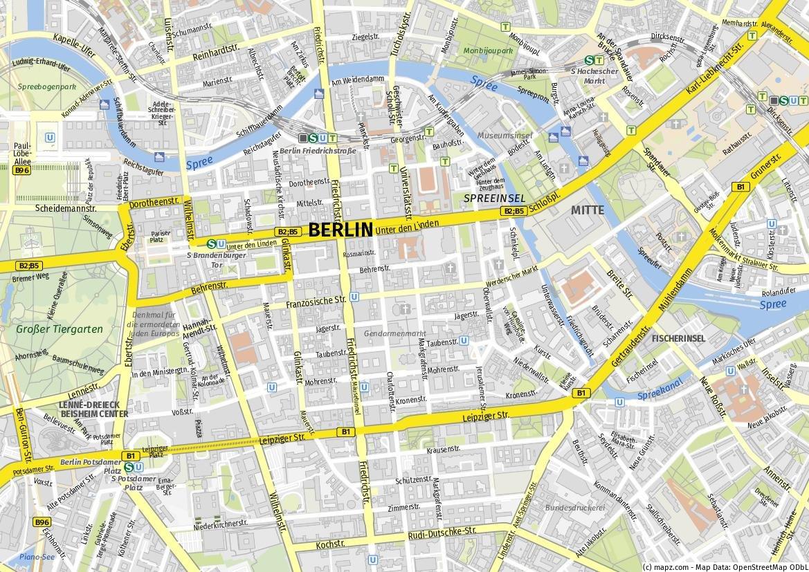 Berlin - Virtueller Stadtführer / Guide de ville virtuel