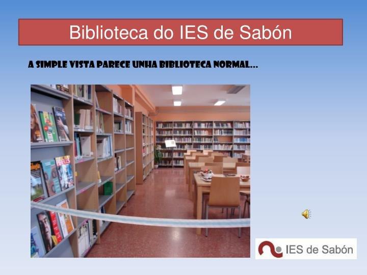 BiblioSabón: unha biblioteca líquida