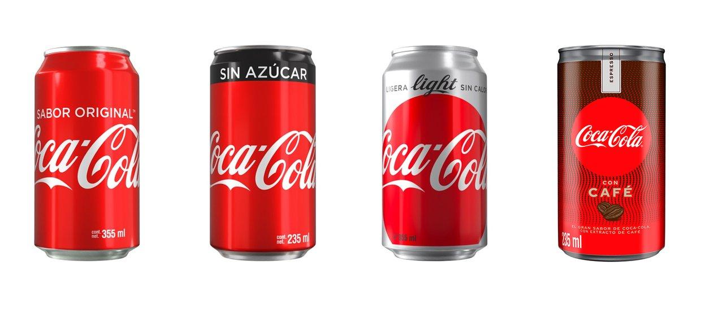 Coca-Cola Sin Ázucar, Coca-Cola Light: Ligera sin caloría...