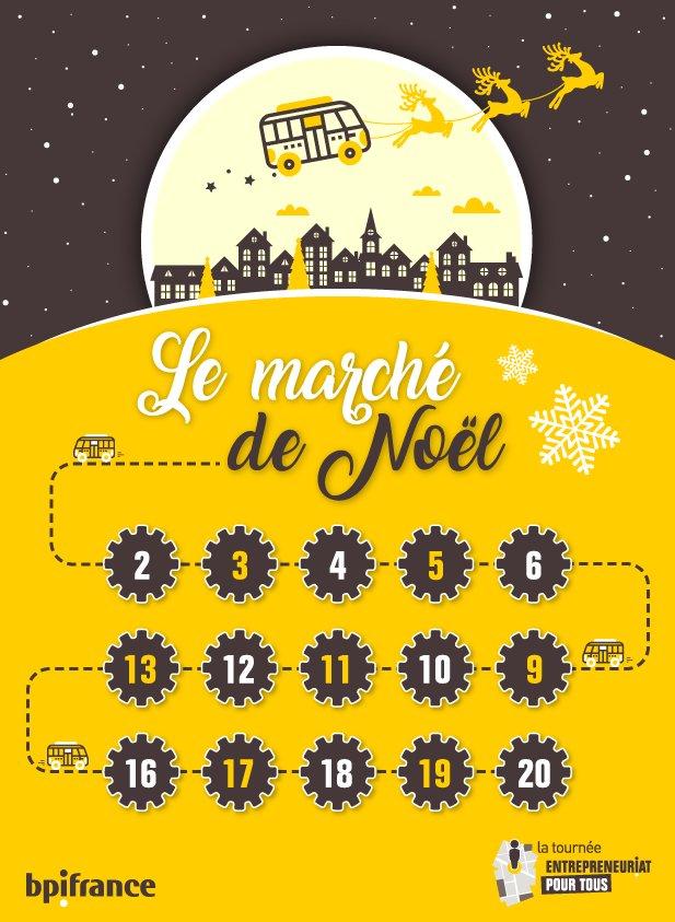 Bpifrance Creation - Le Marché de Noël 2019
