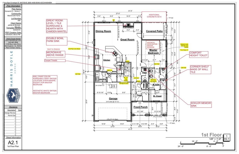 Mcd 009 Norsemill Interactive 1st Floor Plan