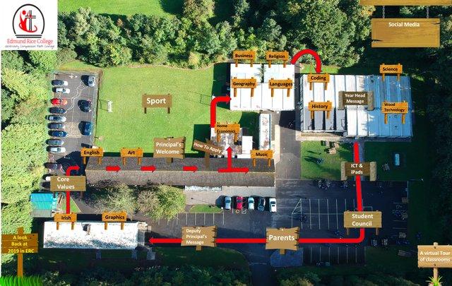 Virtual Tour Edmund Rice College Dublin