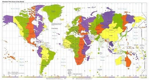 Time zones by Thomas Salman