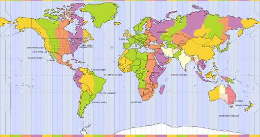 Time zone by Mohammed and Hamnah