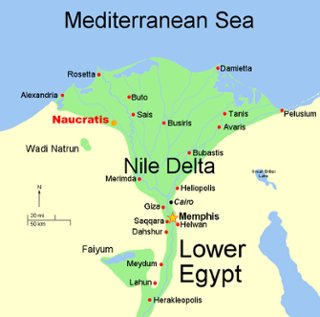 ANCIENT EGYPT MAP ThingLink - Map of egypt heliopolis