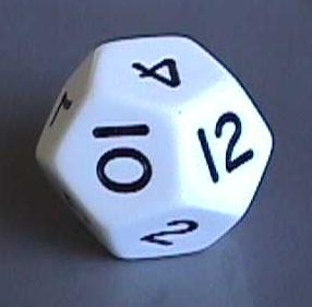 One Real Life Example Of A Dodecahedron Is Twelve Sided Dice