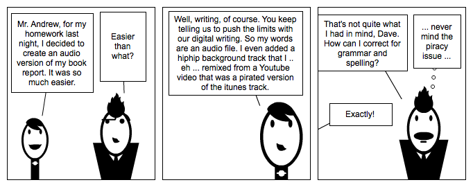 Digital Writing Month: The Audio Track