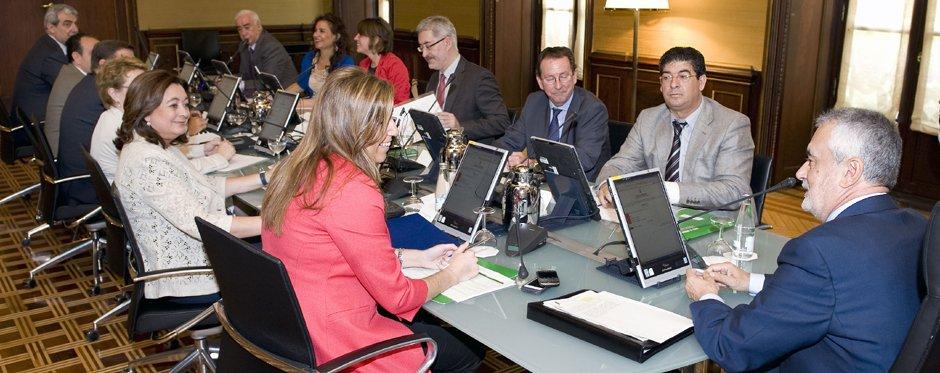 Foto interactiva Consejo de Gobierno