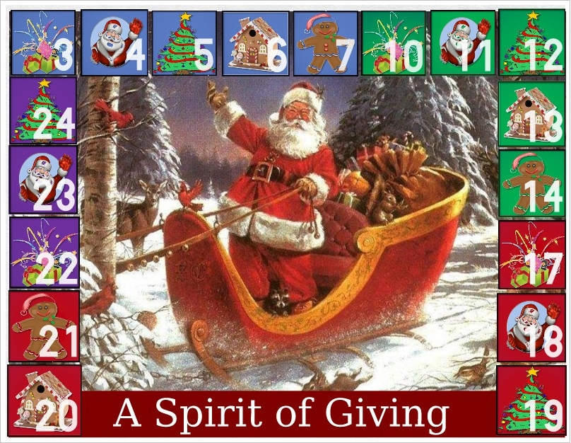 Dec. 3rd The Art of Giving