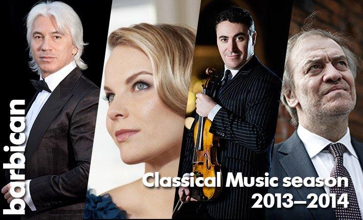 Barbican Classical Music Season 2013 - 14